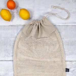 sacs pour fruits et légumes réutilisables